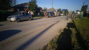Новосибирец на квадроцикле сбил девочку-велосипедистку