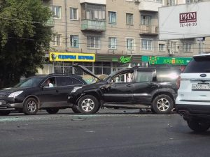 ДТП в Новосибирске - пострадал ребенок