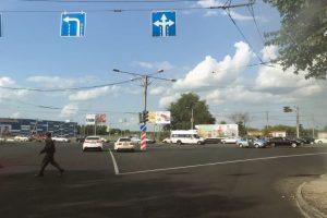 В Новосибирске исправили разметку на Жуковского