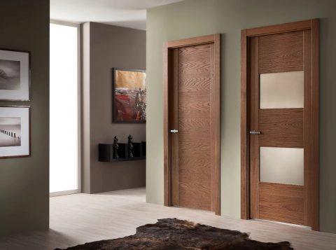 Как выбрать межкомнатные двери в шпоне