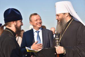 Корабль-церковь «Андрей первозванный» отправился в плавание по Новосибирской области