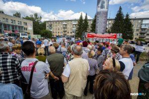 В Пашино 155 военных пенсионеров с семьями выставляют на улицу