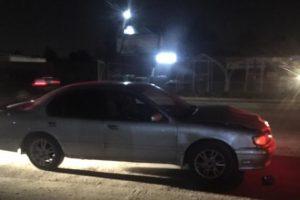 В Новосибирске несколько автомобилей разбились о неосвещённые бетонные блоки
