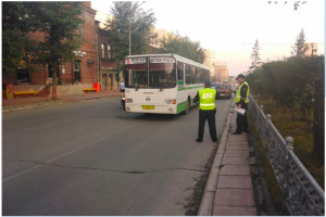 ДТП в Центральном районе - автобус столкнулся с легковушкой