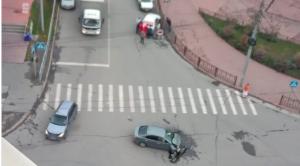 ДТП на Советской - две машины всмятку
