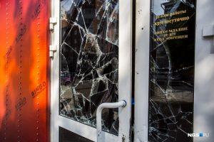 Вандалы разгромили игровой зал на Красном проспекте