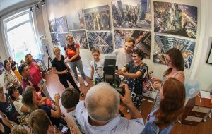 Выставка работ знаменитых фотографов-руферов открылась в Новосибирске