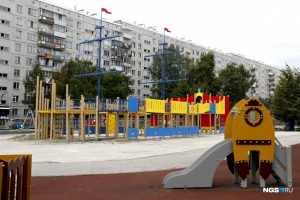 Власти Новосибирска строят детский комплекс на месте разрушенного корабля Водяновой