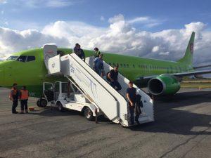 В Толмачёво отменил взлет самолет, разогнавшийся до 233 км/ч