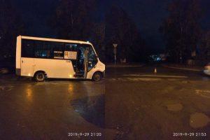ДТП на Автогенной - маршрутка сбила подростка