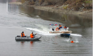 На острове Тань-Вань застрял катер с двумя новосибирцами