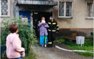 Пожар на улице Кропоткина  — эвакуировали 36 жильцов