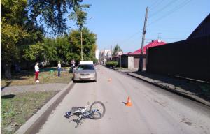 «Тойота» сбила подростка-велосипедиста в Ленинском районе