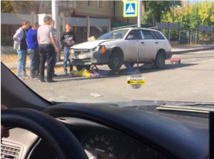 Женщину сбили насмерть на пешеходном переходе в Новосибирске