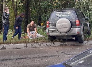 ДТП в Калининском районе - пострадала девушка