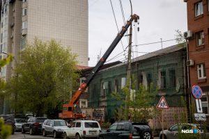 Снесли столетний доходный дом в тихом центре Новосибирска