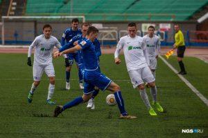 Впервые за месяц ФК «Новосибирск» победил в матче с «Зенитом»