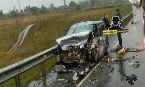 Массовое ДТП в Новосибирской области - погибли три человека
