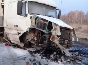 ДТП фуры и легковушки под Новосибирском: погибли трое