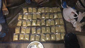 В Новосибирске полиция нашла огромный склад наркотиков