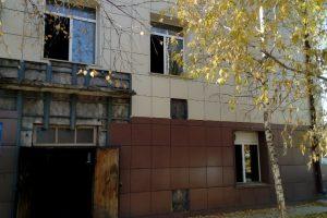 В городе Обь загорелась больница