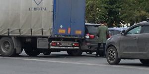 ДТП на «Большевичке» - собралась пробка в сторону Академгородка