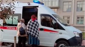 """В Новосибирске увезли на""""скорой"""" голодающих дольщиков"""