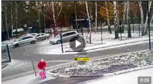 ДТП с восьмилетней девочкой в Новосибирске - появилось видео