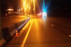 ДТП на Бердском шоссе - Hyundai Solaris улетел в кювет
