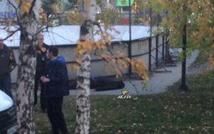 В Новосибирске возле школы нашли труп