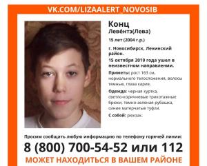 В Новосибирске пропал 15-летний подросток