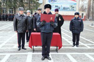 Молодые полицейские приняли Присягу