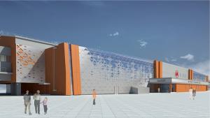 Власти Новосибирска показали первые эскизы станции метро «Спортивная»