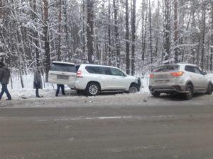 Четырехлетняя девочка пострадала в аварии в Заельцовском районе