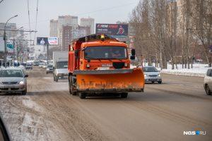 Дороги Новосибирска обработали «Бионордом»