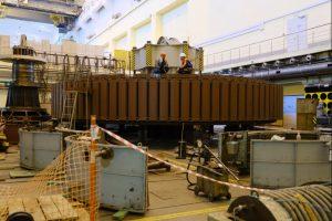 Работу Новосибирской ГЭС проверил Губернатор