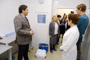 В Новосибирском наркодиспансере обновили лабораторию