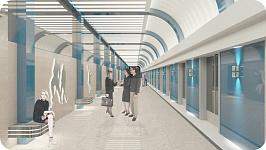 Облик станции метро «Спортивная» выберут новосибирцы