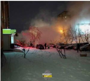В Новосибирске коммунальная авария затруднила движение