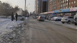 В Новосибирске водитель сбил 10-летнюю девочку