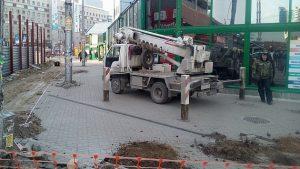 В Новосибирске демонтируют ТК «Гранит»
