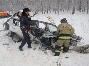 Смертельное ДТП произошло на трассе в Новосибирской области