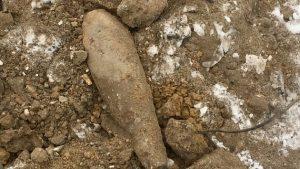 В Новосибирске нашли снаряд на улице Тайгинской