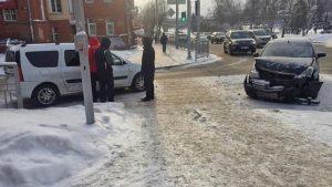 Десятибалльная пробка собирается в центре Новосибирска из-за ДТП
