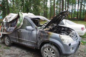 Новосибирец судится с турбазой из-за сгоревшей машины