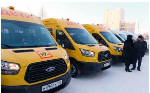 Новые автомобили выдали соцучреждениям Новосибирской области