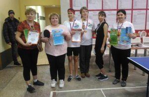 В Бердске прошел турнир по  настольному теннису между воспитателями и нянечками