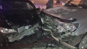 В Новосибирске брат угнал машину сестры и протаранил внедорожник