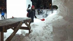 В Новосибирске завершился фестиваль снежной скульптуры