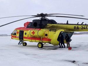 Вертолет санавиации доставил в больницу Новосибирска трех человек